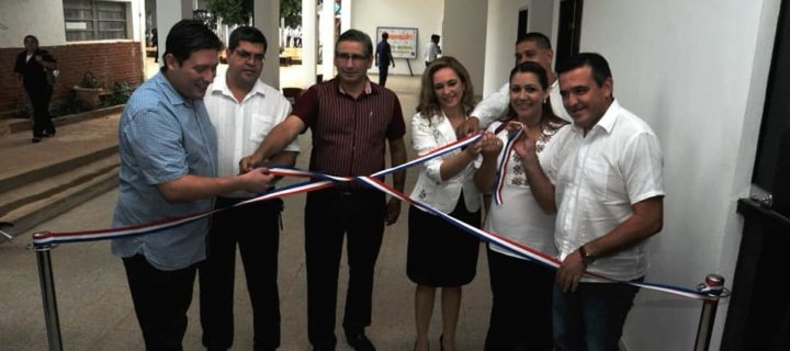 Habilitan mejoras edilicias del Colegio Nacional de Villarrica