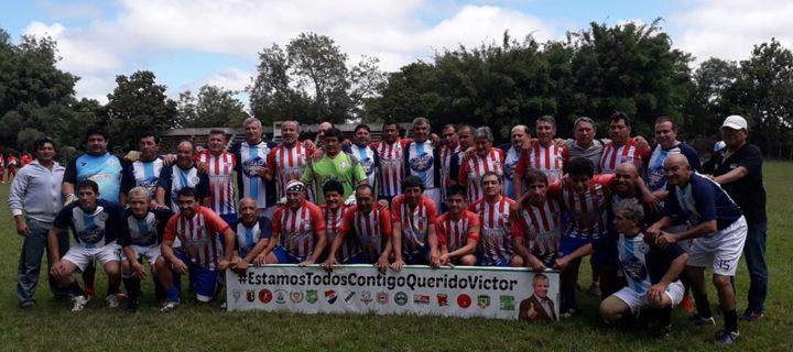 """El tour benéfico """"Todos por Víctor Genes"""" llegó a Villarrica"""