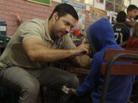 Más de 250 escolares acceden a chequeo medico gratuito en Villarrica