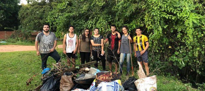 Yvyra Guaraní continúa trabajos de limpieza de cauces hídricos