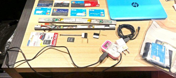 Incautan equipos clonadores de tarjetas de credito