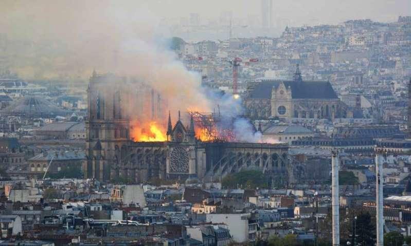 Con el incendio de la catedral de Notre Dame surgen curiosidades históricas