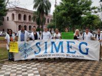 Médicos de Villarrica se movilizan a favor de la Ley de Jubilación