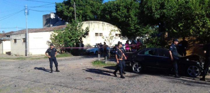 Persecusión policial de película en Asunción