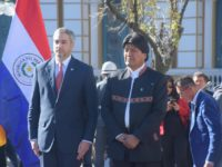 El presidente Mario Abdo Benitez visita Bolivia