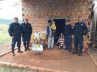 Acto de solidaridad de la Policia Nacional en Borja