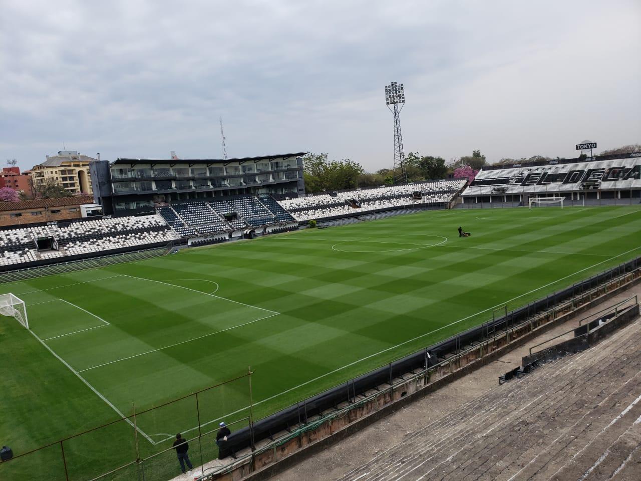 Trovato plantea remodelar y agrandar la capacidad del estadio Manuel Ferreira