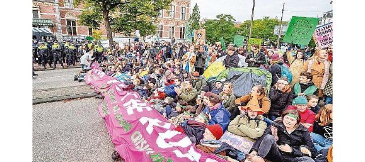 Protesta global contra el cambio climático