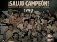 Olimpia trajo al presente la conquista de su segunda Libertadores