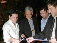 Inauguración de obras realizadas por la Municipalidad de Villarrica