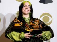 Billie Eilish actuará en los Óscar después de arrasar en los Grammy