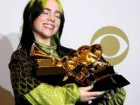 Billie Eilish hace historia en los Grammy