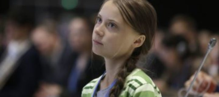 Greta Thunberg registra su nombre y el de su movimiento para protegerlos