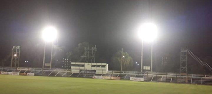 Prueban nuevas lumínicas del Estadio Parque del Guairá