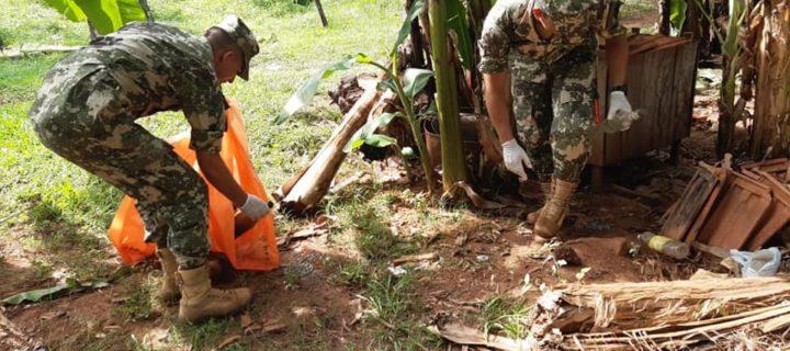 Continúa la minga ambiental en Villarrica