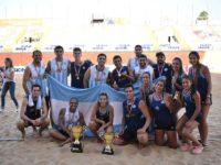 Villarrica se consagró campeón en beach handball en el Torneo Verano
