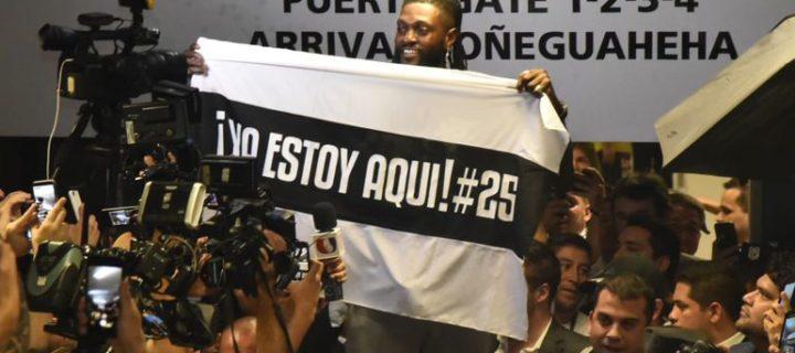 Adebayor ya está en tierras paraguayas!