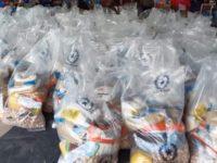 Censo para acceder a los kits de alimentos en Villarrica.