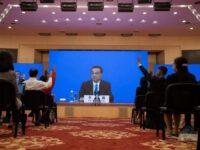 El primer ministro afirma que China quiere una reunificación pacífica con Taiwán