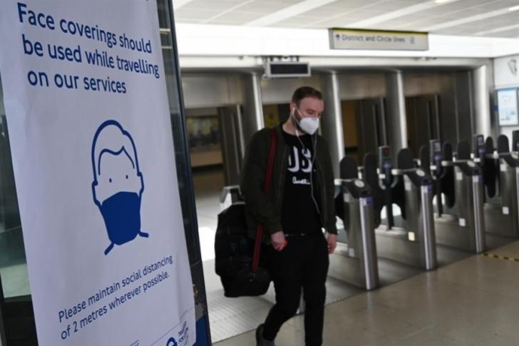 El Reino Unido registra 428 muertes por COVID-19 y 3.446 nuevos contagios