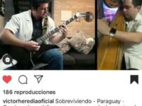 Conocido cantautor argentino felicita a médicos guaireños por homenaje a médicos.