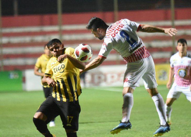 Guaraní rescata un empate de su visita al Gunther Vogel