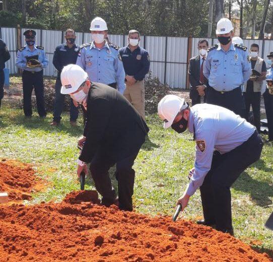 Se inician los trabajos para la construcción de la Escuela de Policía en Guairá