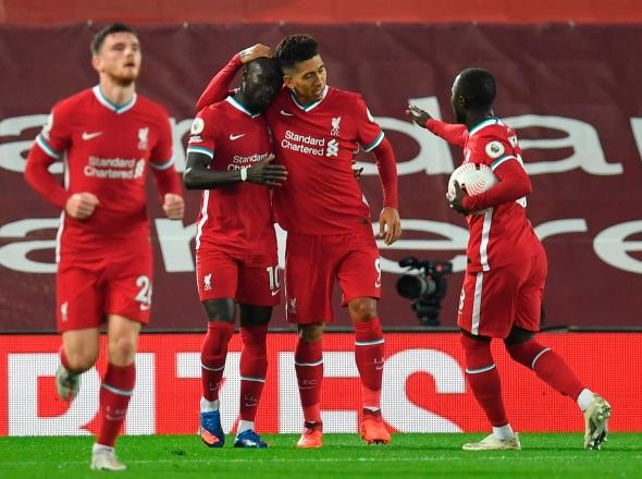 Liverpool frena al Arsenal en Anfield