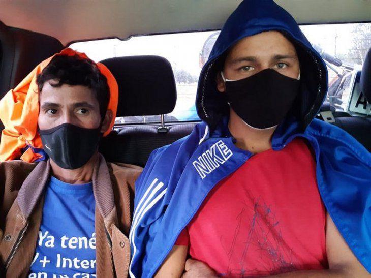 Dos detenidos tras allanamientos por doble homicidio en Villeta