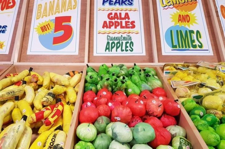 El supermercado de Times Square que vende «plástico para comer»