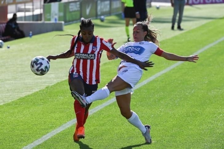 Ludmila y Deyna conectan en el Atlético más camaleónico