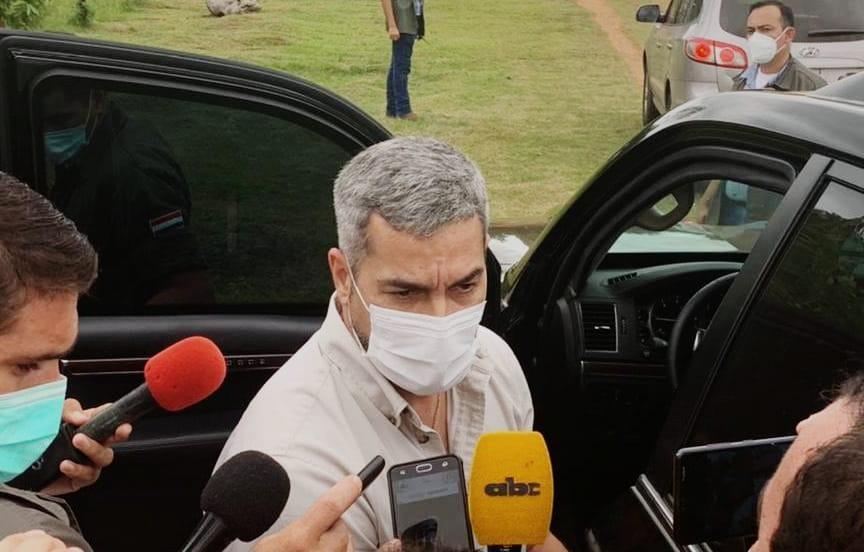 Jefe de Estado cumple su jornada de trabajo en el Guairá