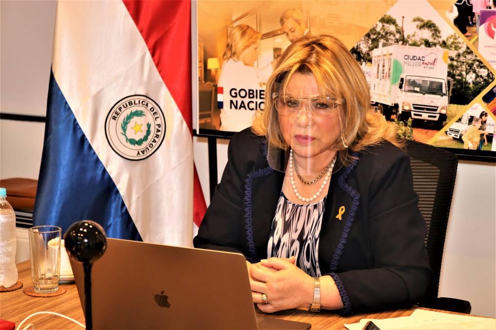 """""""Se les tira agua"""": ministra repudia violencia contra la mujer en escrache a Villamayor"""