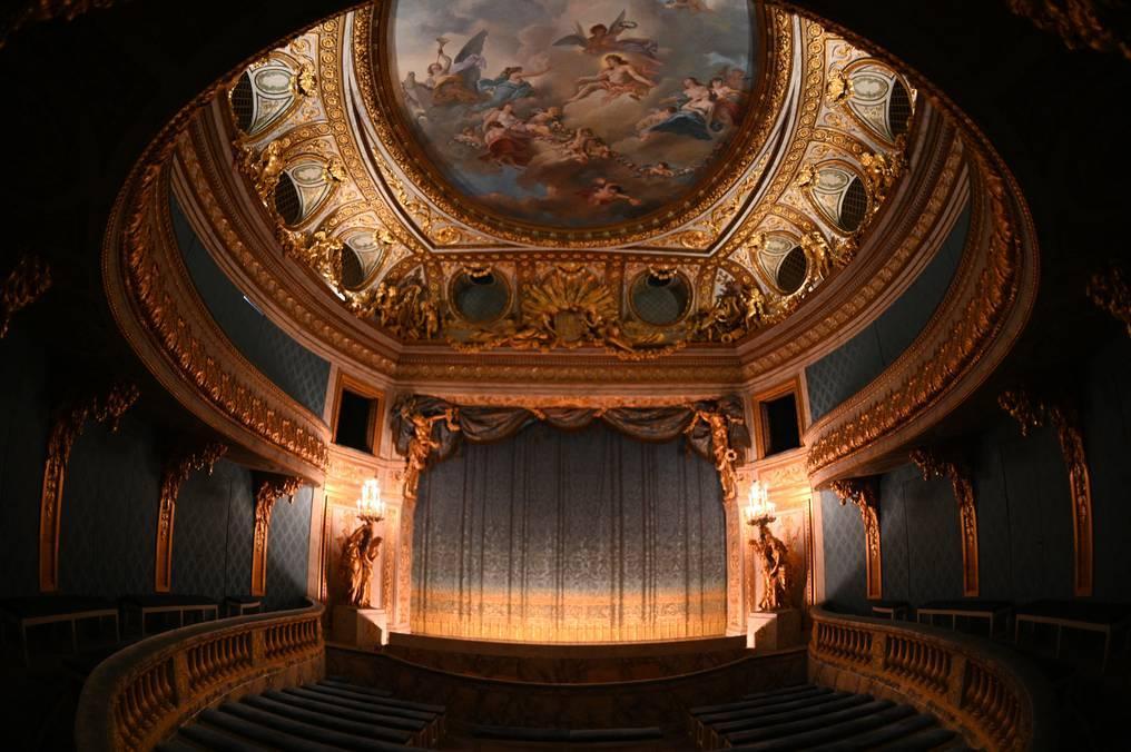 En plena pandemia, el teatro de María Antonieta en Versalles renueva su belleza