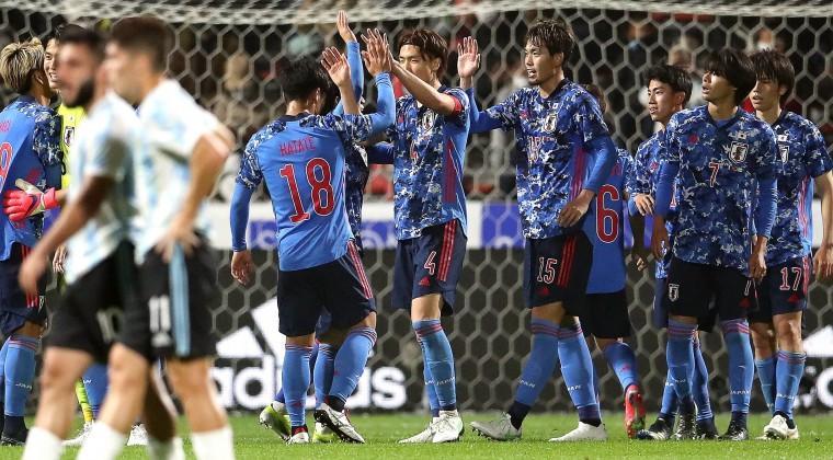 Japón golea a Argentina en segundo amistoso