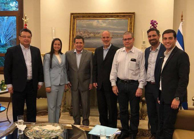 """Embajador Yoed Magen calificó de """"amigo de Israel"""" al expresidente Horacio Cartes"""