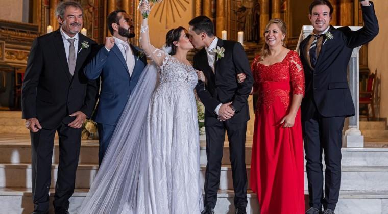 Carlos Franco celebra boda de su hija, en Cartagena de Indias