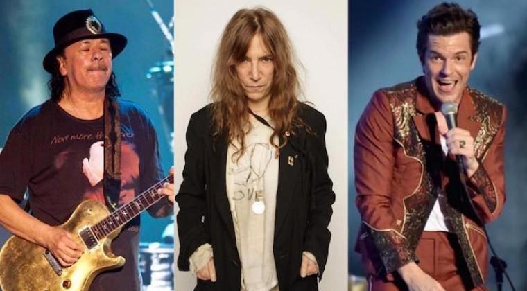 Patti Smith, Carlos Santana y The Killers se unen a megaconcierto neoyorquino