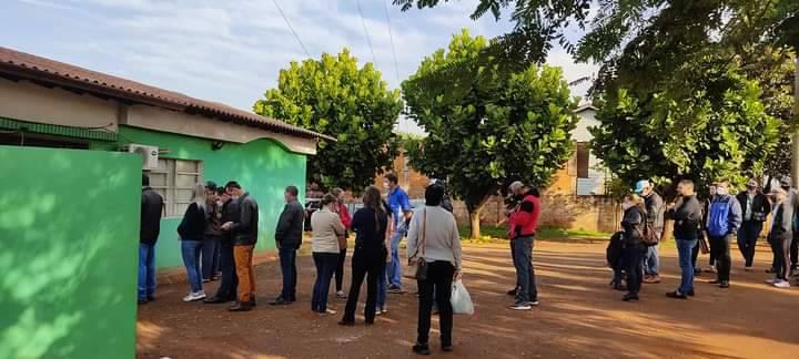 Comuna de Naranjal contrató personal para que la vacunación sea rápida