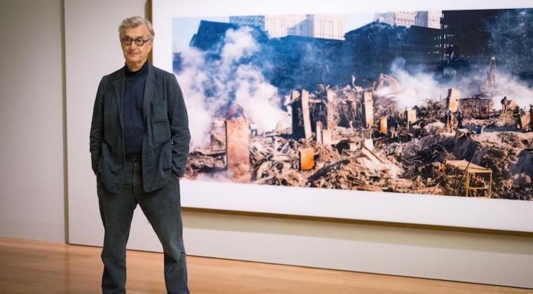 Wim Wenders expone en Londres su «mensaje de esperanza» tras el 11 de septiembre